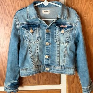 Hudson kids denim jacket